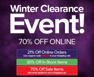 Winter Clearance Lighting Sale